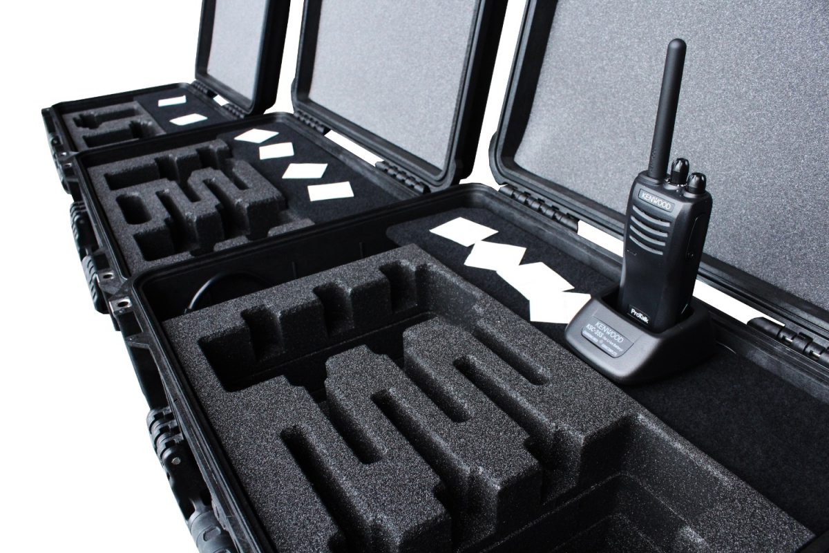 Peli - kenwood walkie talkies